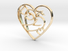 Love...when two hearts beat as one! 3d printed