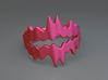 Chasm Ring 3d printed Chasm ring (Pink)