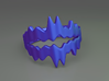 Chasm Ring 3d printed Chasm ring (Blue)