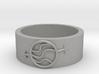 Gender Fluid Ring 3d printed