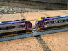 N.01A - N Scale V/Line V'Locity DMU 3d printed Connect cabs with Tomytec Scharfenberg Couplers