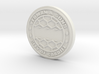 28mm/32mm Custom 'City Of Cardiff' Manhole Cover 3d printed
