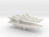 PLA[N] Type 053H3 Frigate x4 w/ Barrels, 1/3000 3d printed