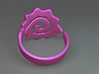 Spiral Ring 3d printed Spiral ring (Purple)