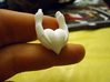 Amber's heart Pendant 3d printed