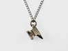 Anvil Necklace 3d printed Anvil Necklace - Stainless Steel