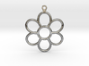 Share Your Smile With Me Sunflower Earrings (Big)  3d printed