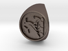 Custom Signet Ring 21 3d printed
