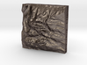 2''/5cm Grand Tetons, Wyoming, Steel 3d printed