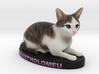 Custom Cat Figurine - Bartholomeu 3d printed