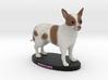 Custom Dog Figurine - Patches 3d printed