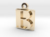 Letter B Pendant 3d printed