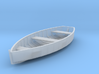 O scale Rowboat 3d printed