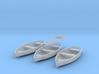 O scale Rowboat Set 3ea 6 Paddles 3d printed