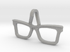 Hipster Glasses Pendant Origin 3d printed