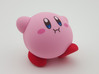 Nendoroid Kirby Extra Feet 3d printed Waddling on his own two feet!