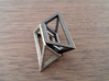Material Sample - 'Impossible' Pyramid Puzzle Piec 3d printed
