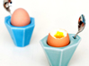 "Egg Cup ""Poly"" 3d printed"