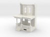 WEST PHILLY 2S ROW HOME 160 Brick LD FRONT END 3d printed