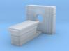 CT Scanner 01. N Scale (1:160) 3d printed