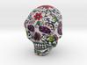 Sand Stone Skull 3d printed