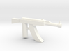 Ak-47 Minifigure Gun 1.3 3d printed