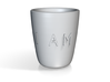 I AM | AM I Saki Cup 3d printed