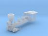 HO 4-4-0 Boiler Shell 3d printed