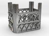 Gothic Emerald Basket 3d printed