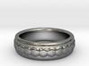 Gemstone Ring - US Size 9 3d printed