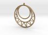 Circles Pendant 3d printed
