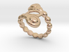 Spiral Bubbles Ring 20 - Italian Size 20 3d printed