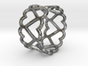 The Ring of Hearts (18 Hearts) Size US 11 3d printed
