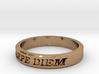 Carpe Diem US Size 10 Ring 3d printed