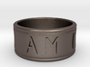 I AM  | AM I Ring - Size 6 3d printed