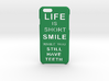 LifeIsShort iPhone 6 6s case 3d printed