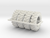 1/64 480/70r34 R2 X 4 tractor tire 3d printed