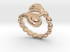 Spiral Bubbles Ring 30 - Italian Size 30 3d printed