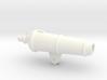 1:24 scale 18 Lb Carronade Barrel 3d printed