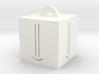 Smiley Keychain Charm 3d printed