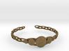 "Celtic Knot Pentacle Cuff Bracelet (3.0"" diameter) 3d printed"