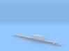 Golf-Class Ballistic Submarine, 1/1800 3d printed