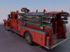 Mack Pumper Body 1:87 3d printed Digital model preview