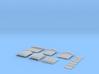 NAQ22 Platform shelter 3d printed