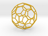 0477 Truncated Icosahedron E (8.7 см) #003 3d printed