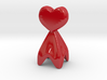 Pie Funnel in a heart shape 3d printed