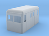 O9/On18 rail bus freight double end 3d printed