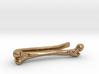 Bone Tie Clip 3d printed
