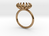 Annie Ring, very small bloom ring 3d printed
