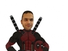 Your Minifigure as Deadpool 3d printed